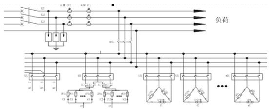 低压三相不平衡无功补偿及配电监测装置